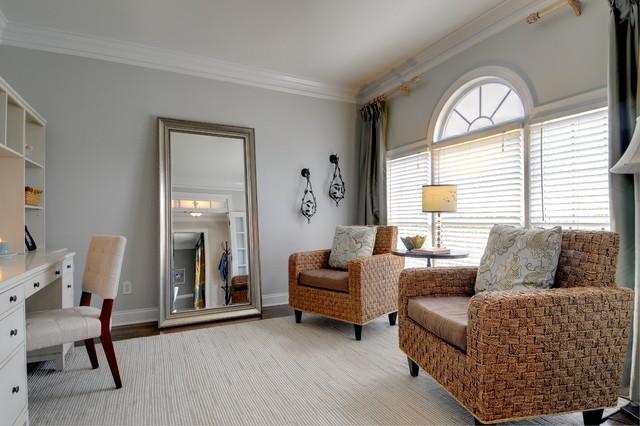 Oakleigh Contemporary Home Office Atlanta By