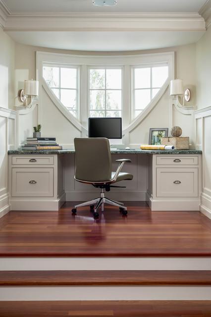 Oakville lakeside residence traditional home office for Office design principles