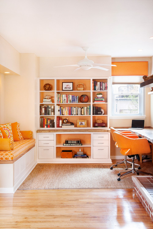 best color for concentration and productivity is orange photos best colors for home office