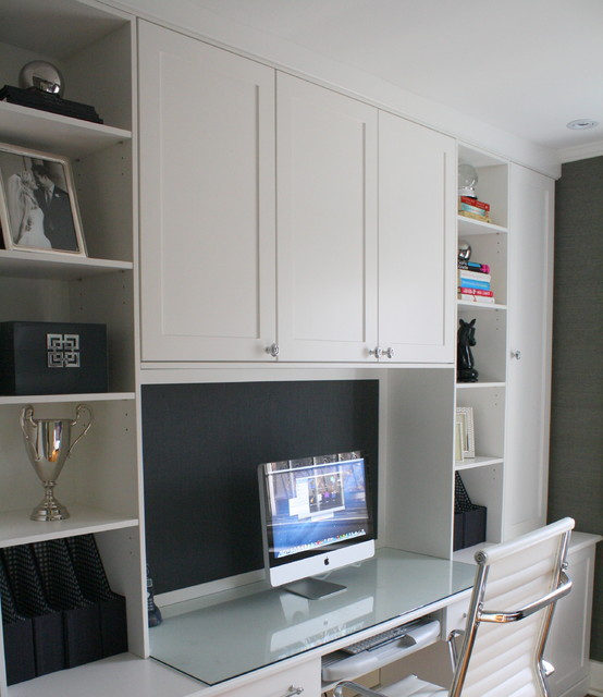 Office and Guest Rooms contemporary-home-office