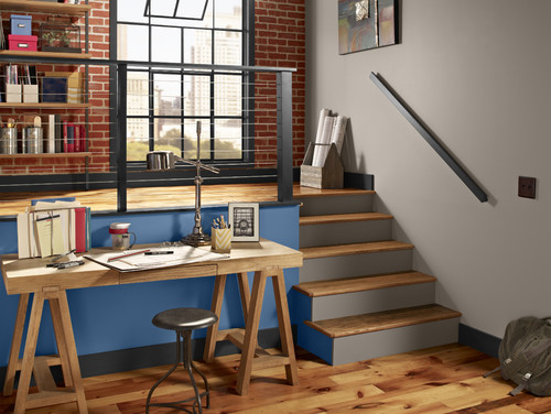 Give your home office an industrial style fornerlavoy for Houzz corporate office