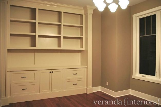 Office built-in traditional-home-office