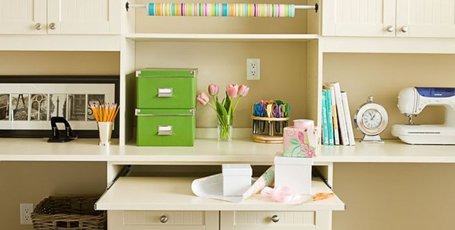 Office eclectic-home-office