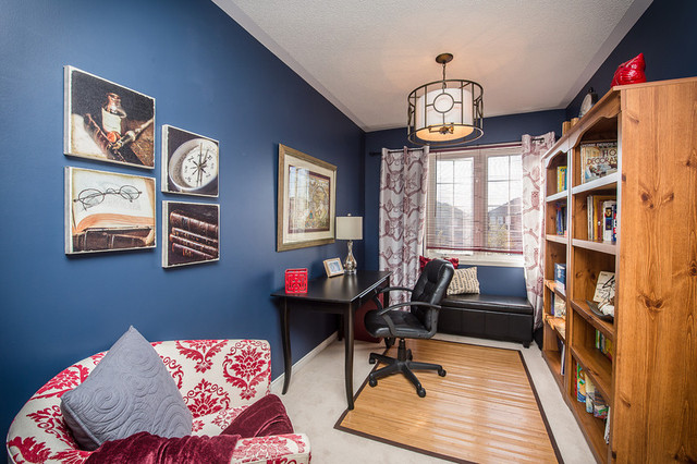 Office/Den eclectic-home-office
