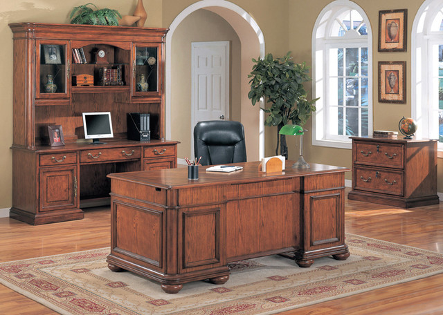 Office Desks traditional-home-office