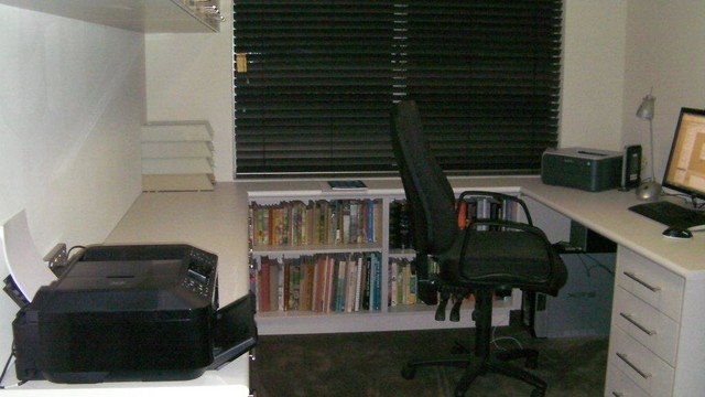 Office Furniture And Bookcases Modern Home Office Perth By Timberwise Cabinets