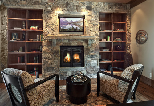 I am looking to reface my existing brick fireplace with stones like that. What color andtype of ...