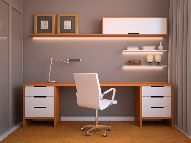 Office Lighting With Led Lights Modern Home Office Seattle By Solid Apollo Led