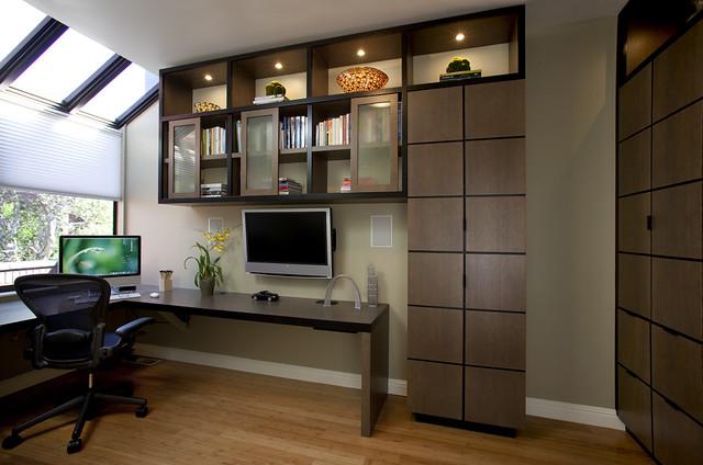 modern office cabinet design. Office Contemporary-home-office Modern Cabinet Design B