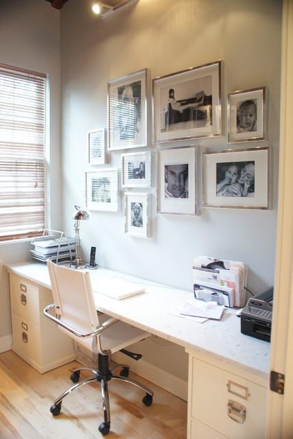 Office - Modern - Home Office - boston - by Melissa Miranda Interior Design