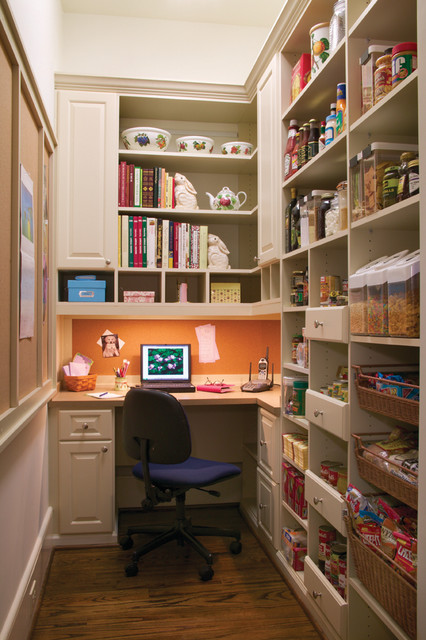 Office/ Pantry - Modern - Home Office - philadelphia - by Closet & Storage Concepts