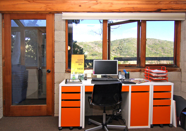Office with a view contemporary-home-office