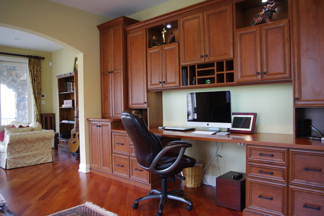 Offices - Traditional - Home Office - New York - by Rylex Custom ...