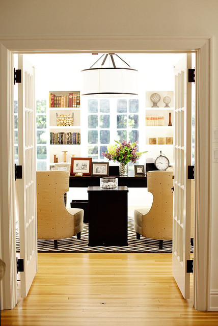 Old is Forever eclectic-home-office