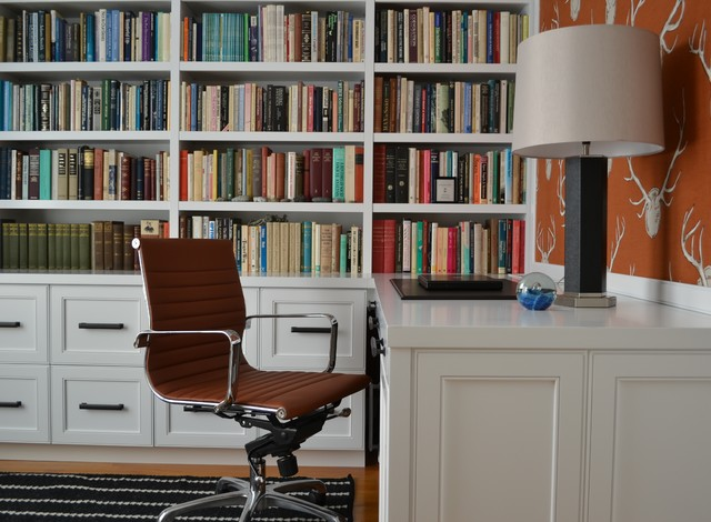 Old Town Townhome - Eclectic - Home Office - Other - by steve + filip ...