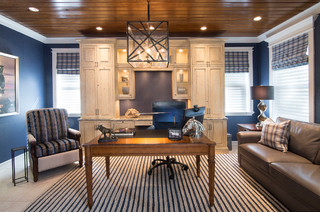 Olde Naples Florida Traditional Home Office Other