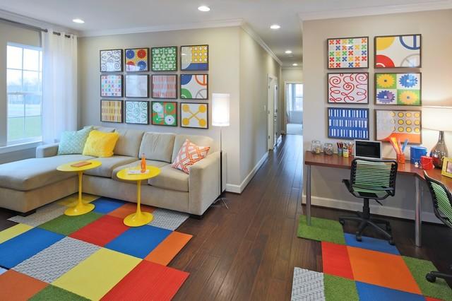 One Loudoun - Greenwich contemporary-home-office