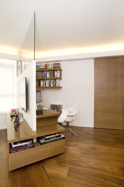 One Robinson Place - Minimalistic Design with an Artistic Touch contemporary-home-office