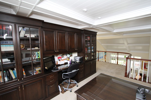Orange County traditional-home-office