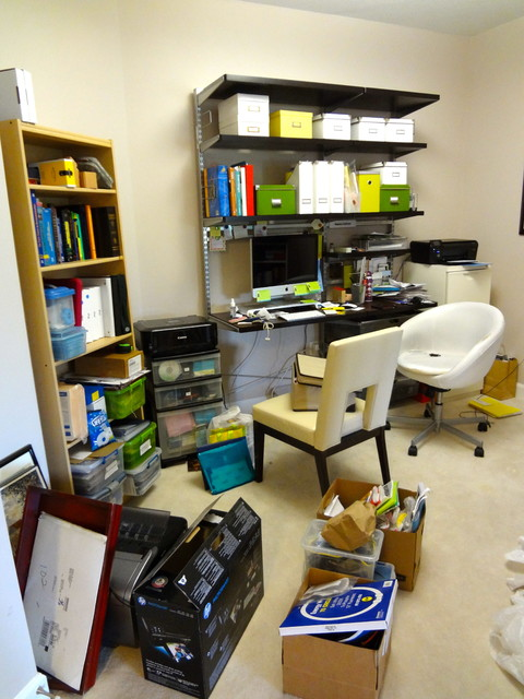 organizing the home office modern home office charlotte by