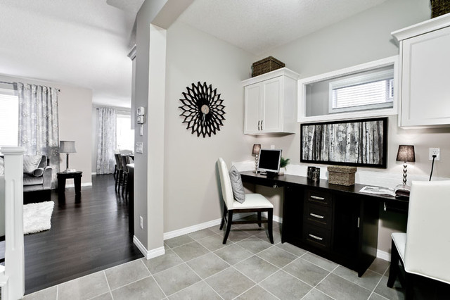 The Orion II In Nolan Hill In NW Calgary AB Contemporary Home Office C