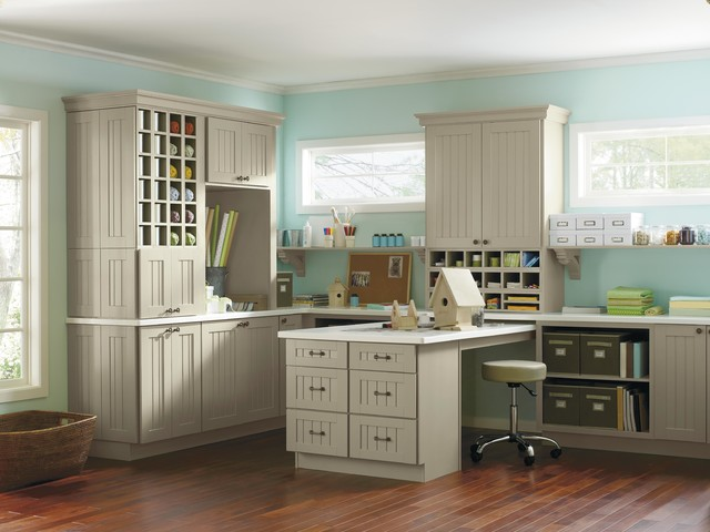 Other Rooms - Traditional - Home Office - New York - by Martha Stewart Living