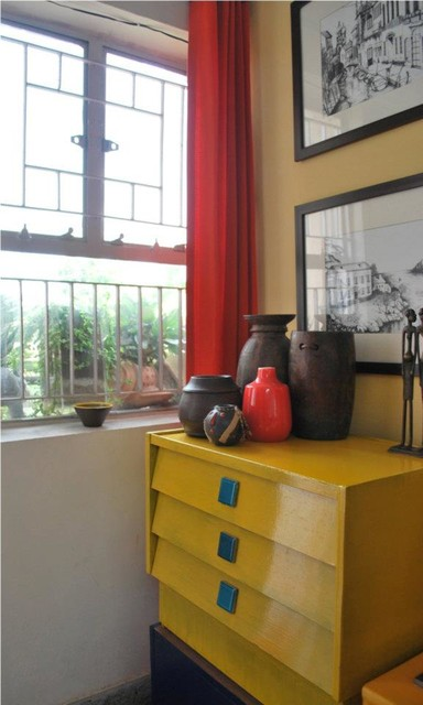 Our Cheerful and Inspiring Studio eclectic-home-office