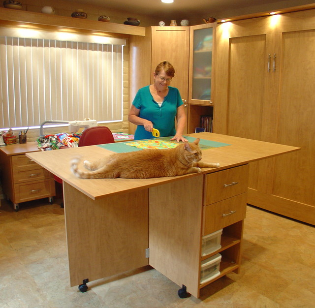 Our designs and projects traditional-home-office