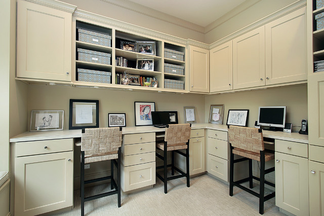 Oxford Development traditional-home-office