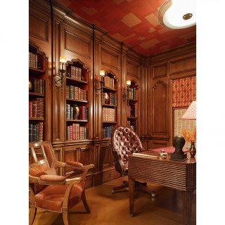 pacific heights residence traditional home office san francisco by moroso construction atherton library traditional home office