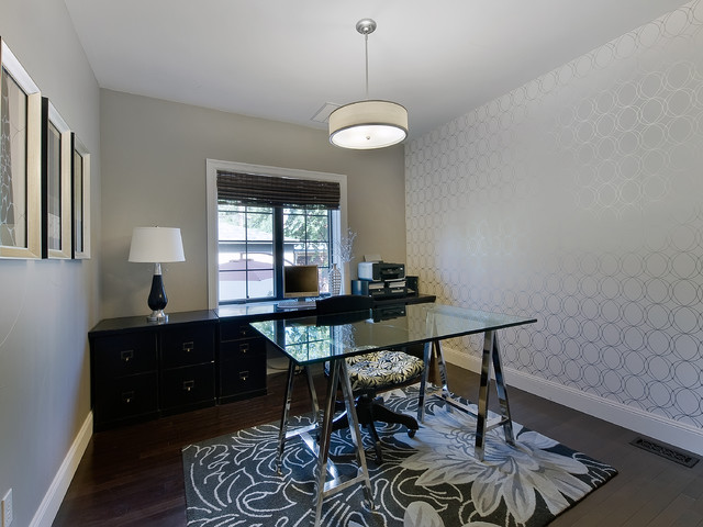Park Hill Renovation traditional-home-office