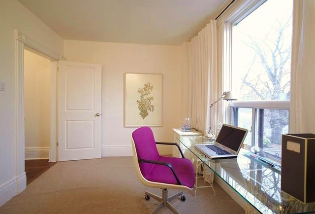 Parkdale house office modern home office toronto for Home office design ltd