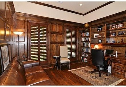 Parkford House traditional-home-office