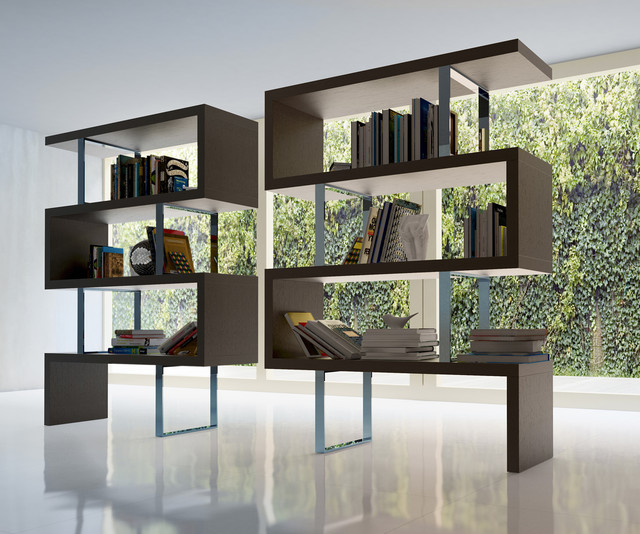 pearl contemporary modern bookcases by modloft