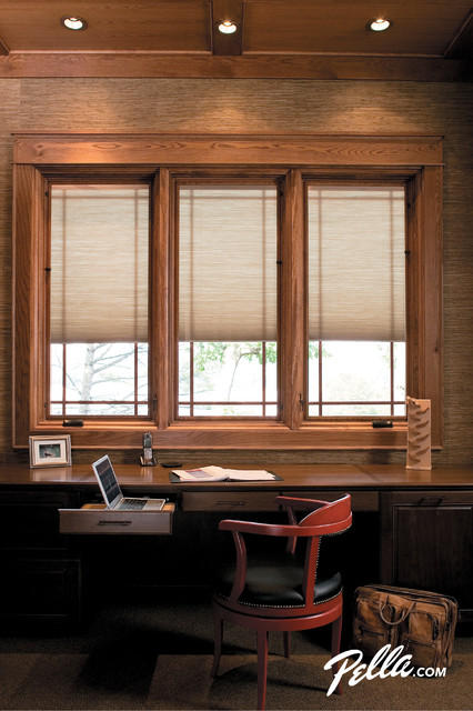 Pella Designer Series Casement Windows Feature Between
