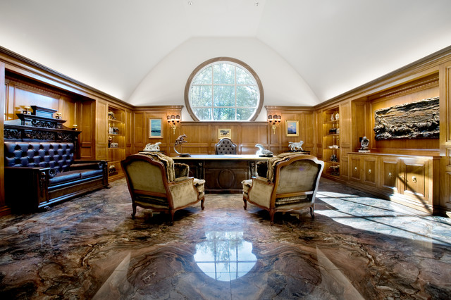 Pennsylvania Exotic Home Traditional Home Office Dc