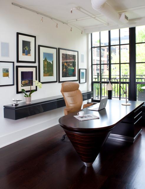 Penthouse Condo contemporary-home-office