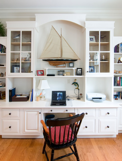 Perfectly put together traditional home office charleston by kitchen design center - Putting together stylish kitchen abcs ...