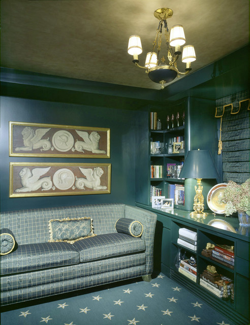 Peter S. Balsam eclectic-home-office