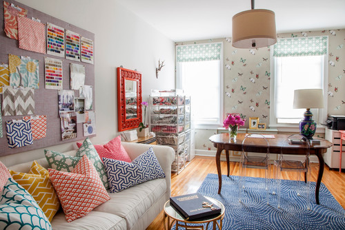 Color In An Eclectic Room
