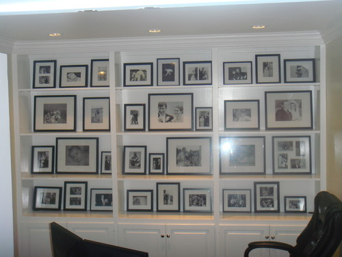 Photo Wall modern home office