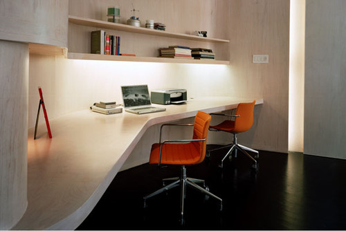 ply loft, new york modern home office