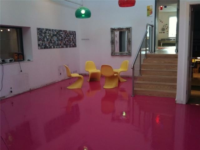 Polished Concrete Floors And Poured Resin Flooring Newcastle Upon Tyne Modern Home Office