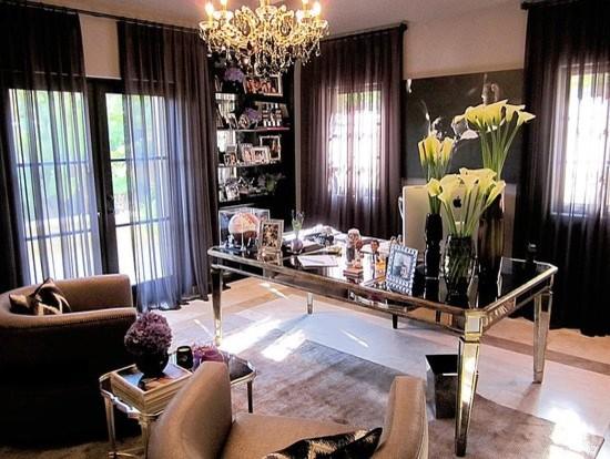 Posh Home Decor: Posh Office Luxury