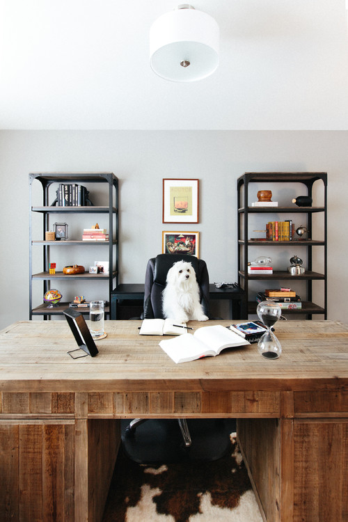 Potrero Hill Home: His Home Office