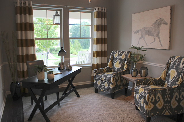 Preserve at Hickory Flat Model Home contemporary-home-office