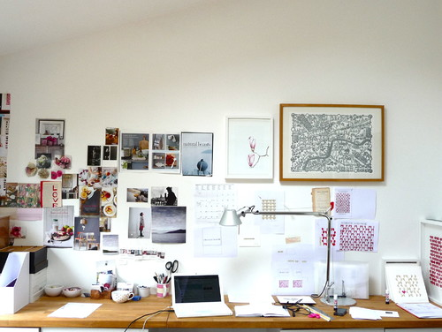 previos work area eclectic home office