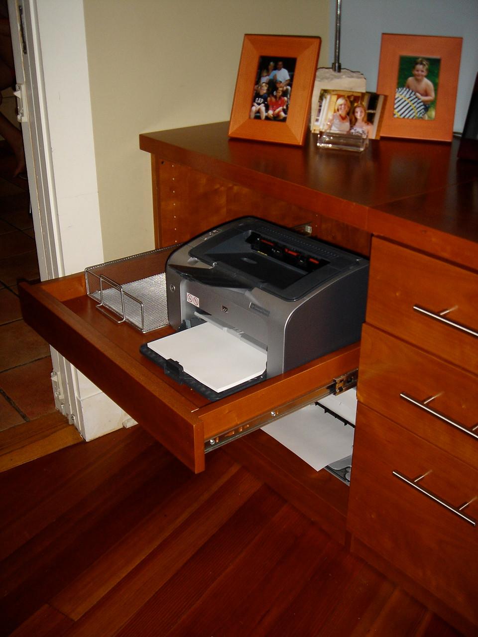 Printer Slideout tray