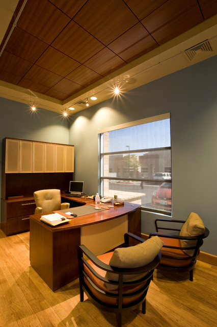Private Office Lounge, Las Vegas, NV contemporary-home-office