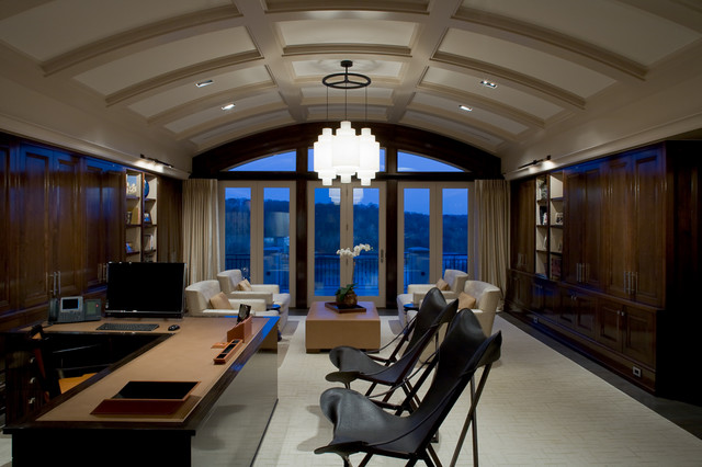 Private Residence contemporary home office
